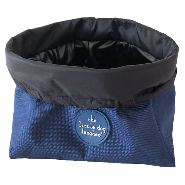 Pet Travel Bowl -Blue