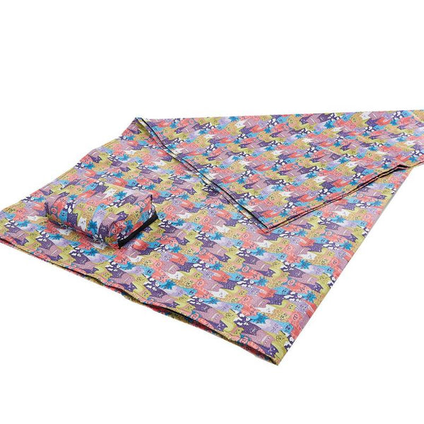 Multiple Cats picnic blanket by Eco Chic