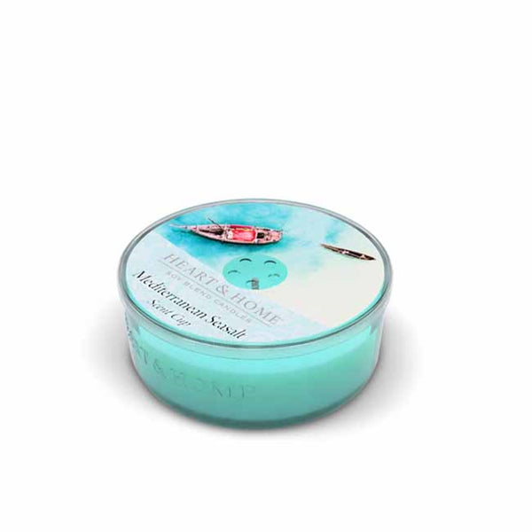 Heart & Home Meditrranean Seasalt Scented Soy Wax Scent Cup