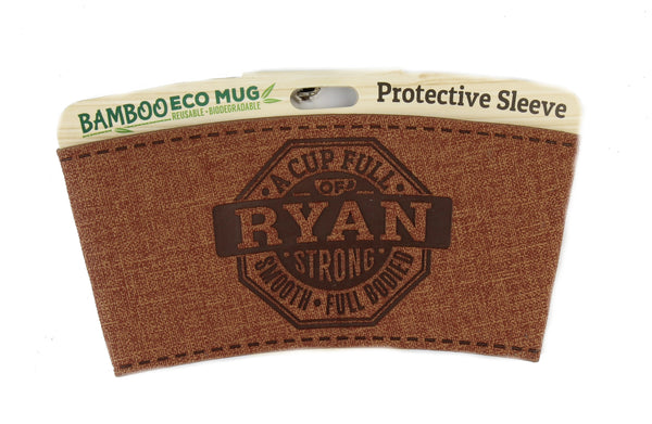 "Eco Mug Heat Sleeve/Wrap ""Ryan"" By History & Heraldry"
