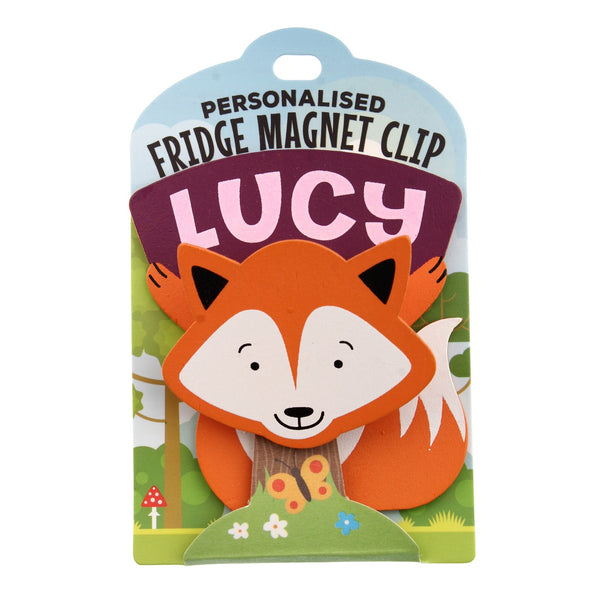 Fridge Magnet Clip Lucy