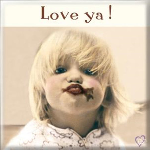 Fridge Magnet - MT095 - Love ya!