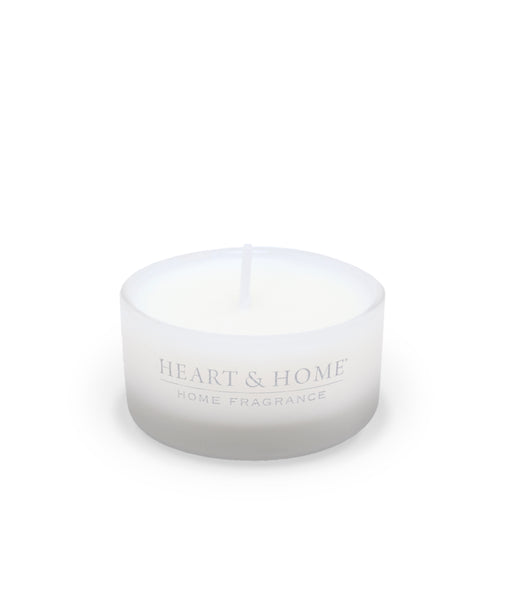White Tea & Eucalyptus Fragranced Scent Cup from Heart & Home Scent With Love Collection