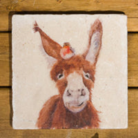 HEADS UP - DONKEY & ROBIN MEDIUM PLATTER