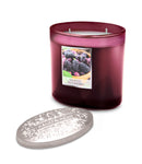 Simply Mulberry Fragranced 2 Wick Ellipse Candle from Heart & Home