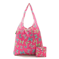 New 2020 Eco Chic 100% Recycled Foldable Butterfly Print Reusable Shopper Bag