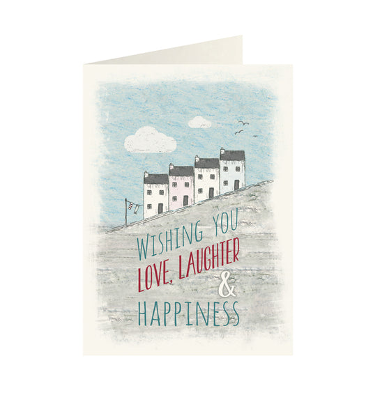 East Of India - Wonderland greeting card - Wishing you love, laughter & Happiness