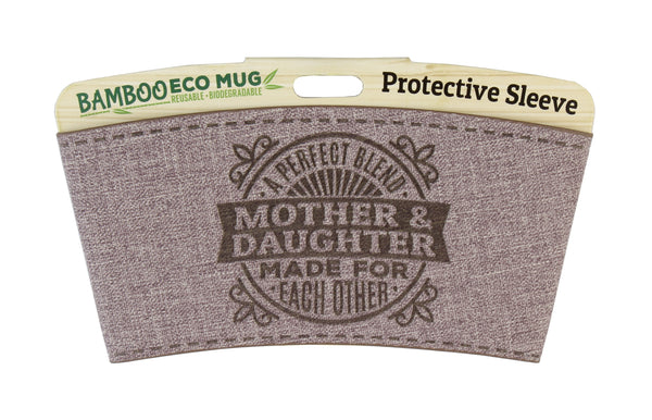 "Eco Mug Heat Sleeve/Wrap ""Mother & Daughter"" By History & Heraldry"