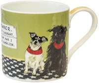 If We Get Caught Little Dog Laughed Mug in Gift Box It's A Good Sign Range