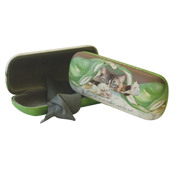 Tabby Cat Glasses Case -Confuses