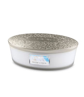 Fresh Linen Fragranced 4 Wick Ellipse Candle from Heart & Home