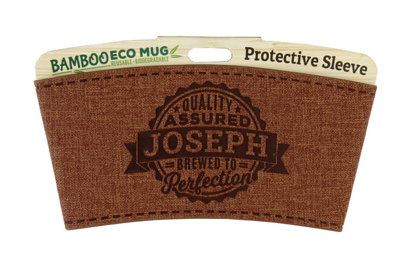 "Eco Mug Heat Sleeve/Wrap ""Joseph"" By History & Heraldry"