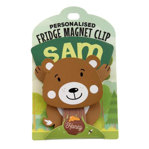 Fridge Magnet Clip Sam