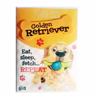 "Wags & Whiskers Dog Greeting Card ""Golden Retriever"" by Paper Island"