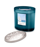 Simply Spa Fragranced 2 Wick Ellipse Candle from Heart & Home