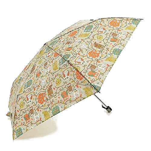 Owlprint Mini Umbrella by Eco Chic