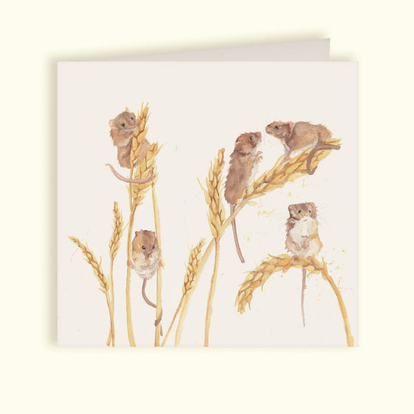 Field Mice Greeting Card