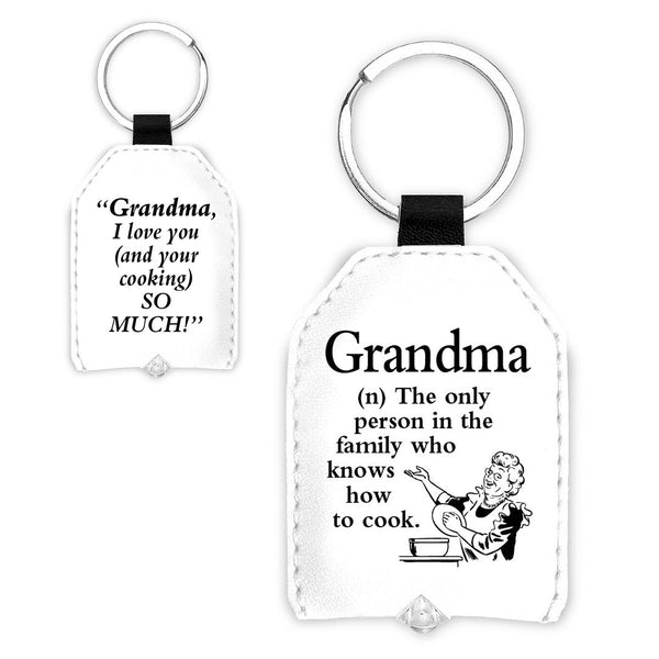 "Urban Words Key Light ""Grandma"" with urban Meaning"