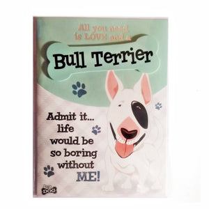 "Dog Greeting Card ""Bull Terrier"" by Paper Island"