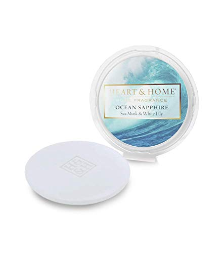 History & Heraldry Soy Based Wax Melt by Heart and Home Ocean Sapphire
