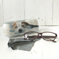 Scruffy Love Glasses Case