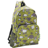 Eco Chic Lightweight Foldable Backpack (Sheep Green)