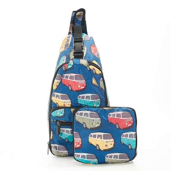 Lightweight Foldable Cross-Body Bag Camper Van  by Eco Chic