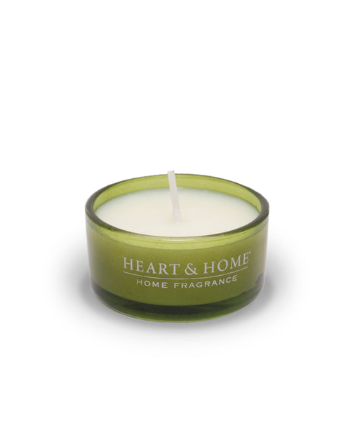 Basil, Lime & Mandarin Fragranced Scent Cup from Heart & Home Scent With Love Collection
