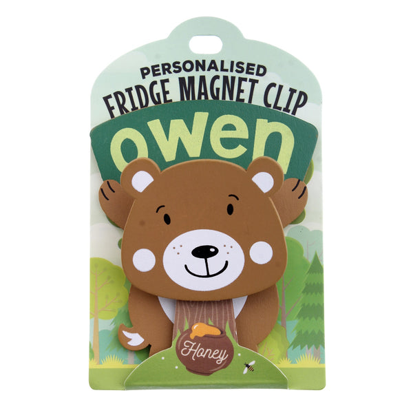 Fridge Magnet Clip Owen