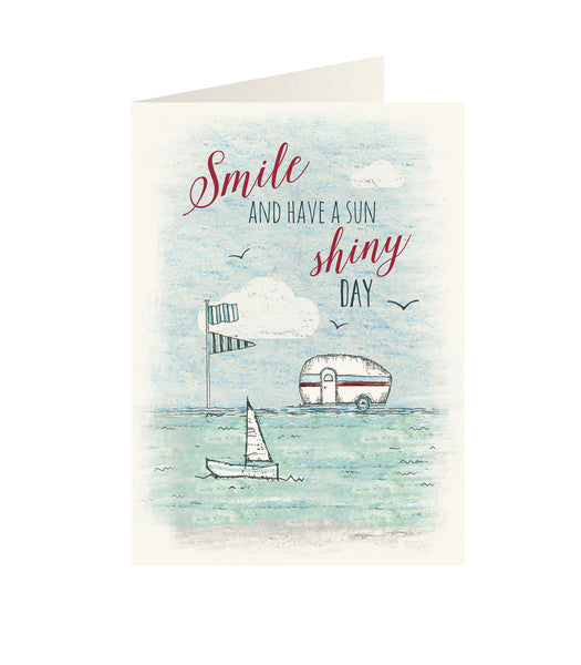East Of India - Wonderland greeting card - Smile and have a sun shiny day