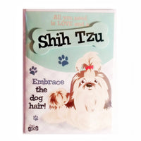 "Wags & Whiskers Dog Greeting Card ""Shih Tzu"" by Paper Island"