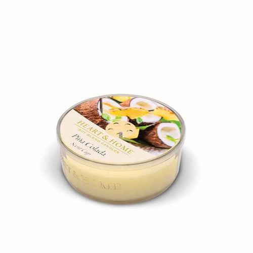 Heart & Home Pina Colarda Scented Soy Wax Scent Cup