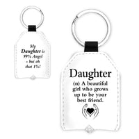"""Urban Words Key Light /""""Daughter/"""" with urban Meaning"""