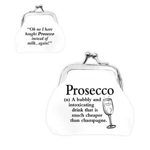 urban words mini clip purse prosecco with urban meaning lilyrye