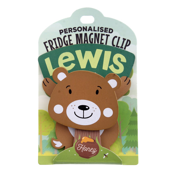 Fridge Magnet Clip Lewis