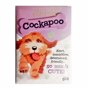 "Dog Greeting Card ""Cockapoo"" by Paper Island"