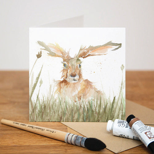 SOLO HARE GREETING CARD