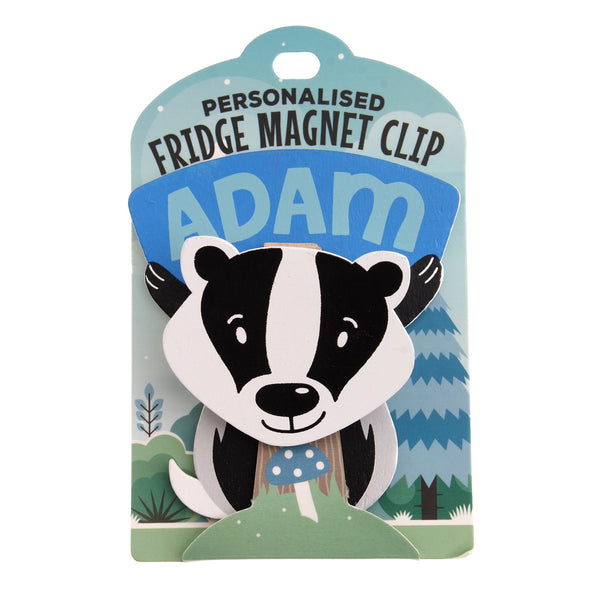 Fridge Magnet Clip Adam