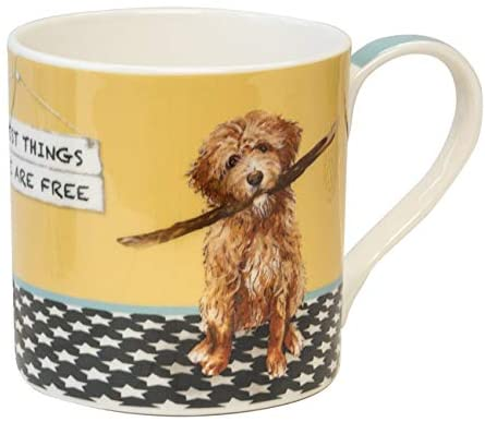 Best Things in Life Little Dog Laughed Mug in Gift Box It's A Good Sign Range
