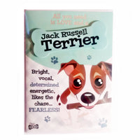 "Wags & Whiskers Dog Greeting Card ""Jack Russell Terrier"" by Paper Island"