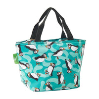 Lightweight Foldable Lunch Bag Puffin by Eco Chic