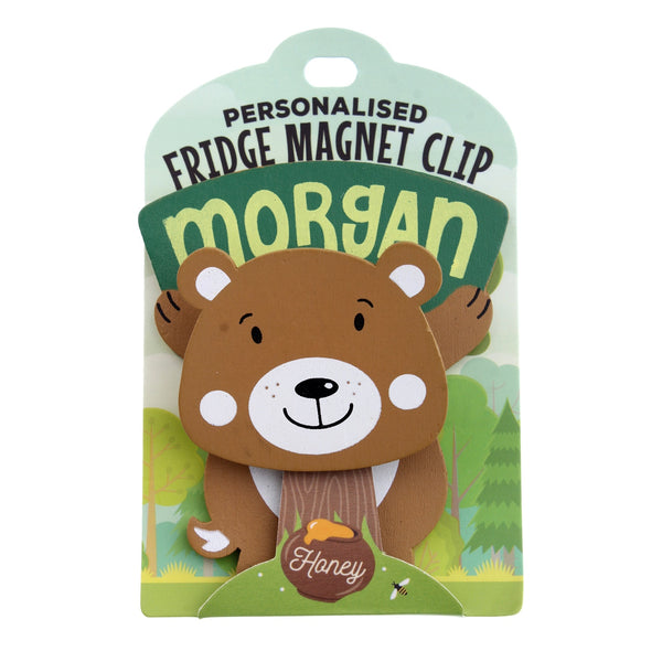 Fridge Magnet Clip Morgan