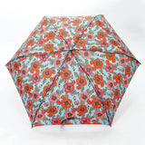 BLUE POPPIES MINI UMBRELLA