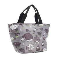 Lightweight Foldable Lunch Bag Sheep by Eco Chic