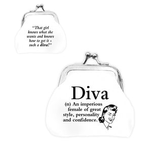 urban words mini clip purse diva with urban meaning lilyrye