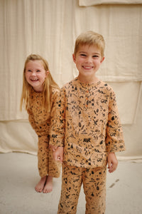 Into the Wild Pyjamas - 100% Linen