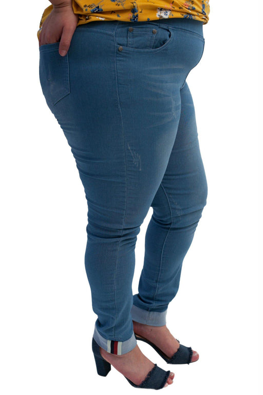 STELLA oceanside skinny jeans side view