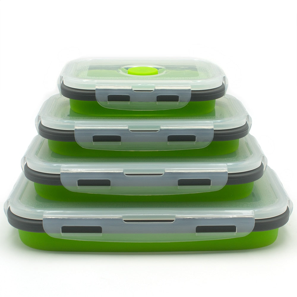 Collapsable Lunch Box (4pcs)