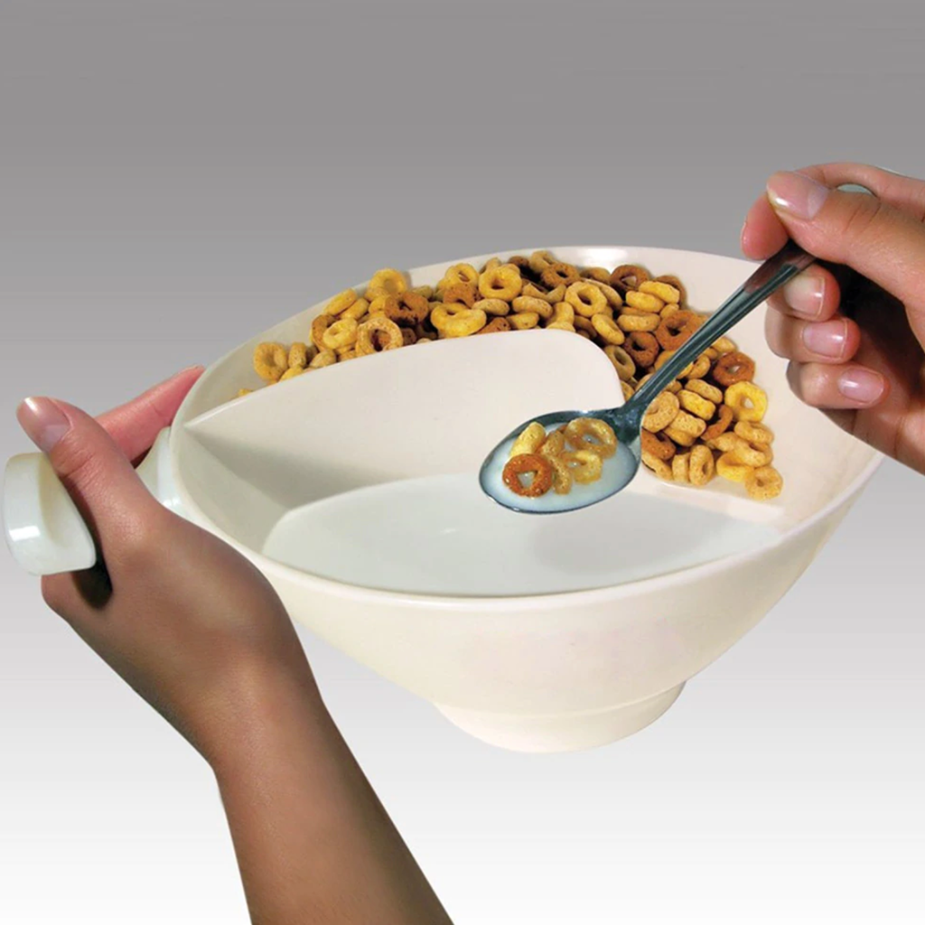 Soggy-Free Cereal Bowl
