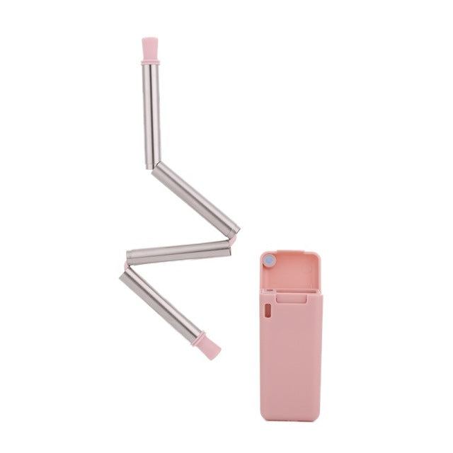 Collapsable Stainless Steel Straw